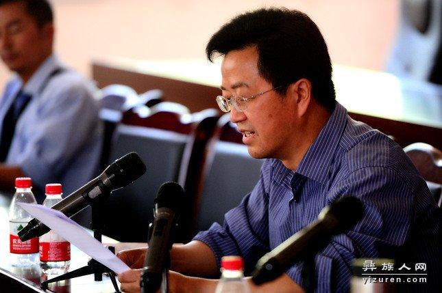 王龙川代读县委宣传部部朱建才讲话