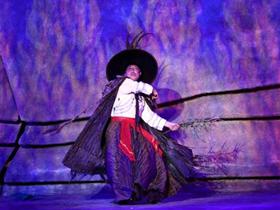 中国第一台实景火秀:《阿惹妞》大凉山彝族风情