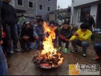 泸西县午街铺镇凤午村别具特色的彝族撒尼杀猪饭