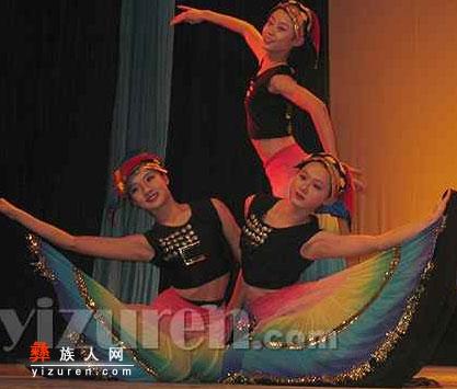 丰富多彩的云南彝族民间舞蹈