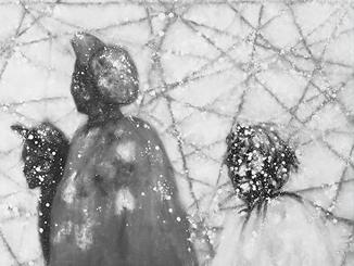 大山的忧郁——彝族青年画家安杰系列作品