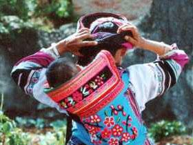 各地彝族服饰展示――石林彝族撒尼服饰(二)