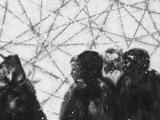 彝族青年画家安杰系列作品——《回归》