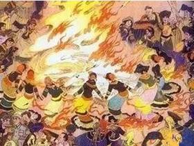 彝族传统佳节—火把节