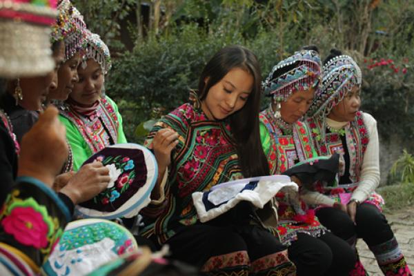 彝族刺绣—将走向国际的民族奢侈品牌