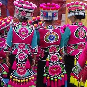 彝族左脚舞文化节——牟定三月会