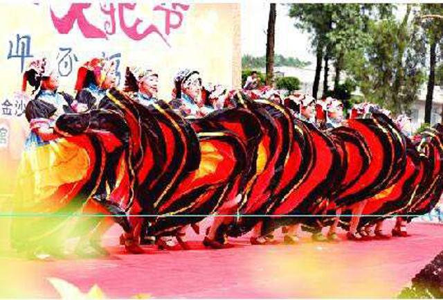 金沙县2016年彝族 火把节 在石场乡举行
