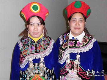 鲜艳的罗婺彝族服饰