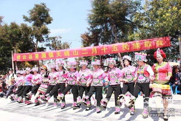 云南祥云左脚舞:彝族文化的活化石