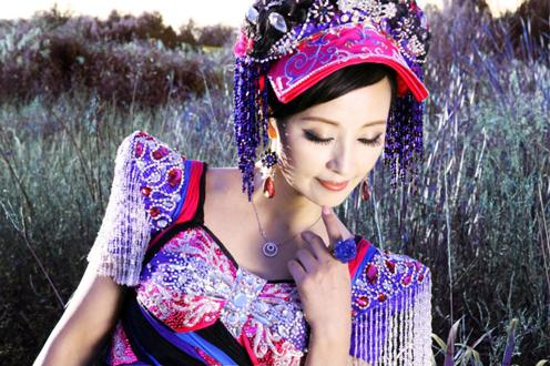 彝族歌唱家曲比阿乌 将出席寻找定襄最美声音启动