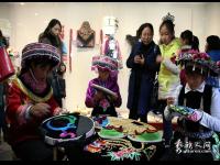 景东彝族刺绣:绽放在指尖的花朵