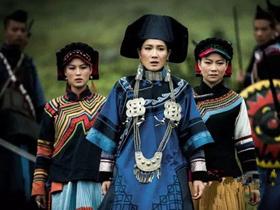 潘雨辰《彝海结盟》热拍 彝族服饰尽显典雅贵气