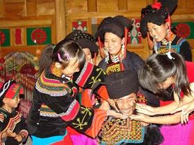 九龙彝族婚俗文化