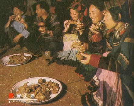 彝区各地食俗