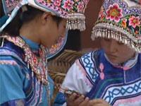 走遍云南之民族服饰系列——鸡街彝族刺绣