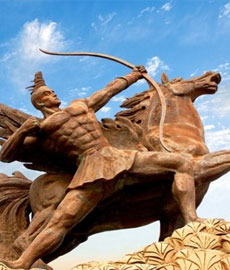 彝族英雄史诗集萃之四――《支嘎阿鲁王》
