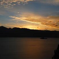 泸沽湖美景