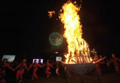 Yi ethnic group celebrates Torch Festival