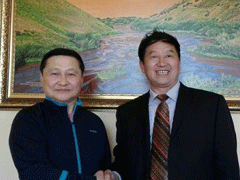 沙马拉毅教授国宝熊猫画全球邀请展——乌兰巴托站圆满开幕