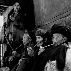 老人——烟杆