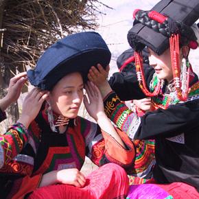 为幸福忙碌的日子——多彩的美姑彝族婚俗