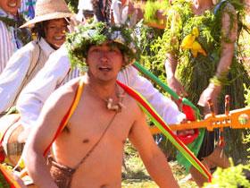 狂野下的纯真之美——云南弥勒彝族阿细人的祭火仪式