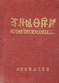 《彝文字典》