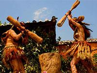 彝族十二兽舞 一种古老的民族民间舞蹈