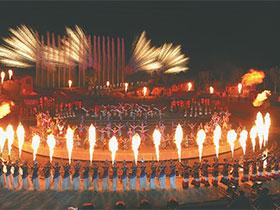 与火共舞,伴火欢歌,火向全国——春晚凉山分会场好火