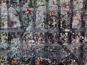 彝族青年画家安杰系列作品——《在路上》