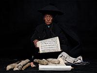 蒋志聪摄影作品——毕摩像