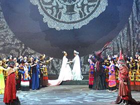 盘县原创彝族歌剧《天穹的歌谣》在中国凉都大剧院汇报演出