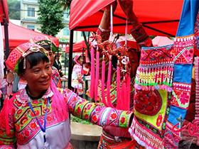 富源墨红彝族刺绣——指尖的艺术绘就致富蓝图