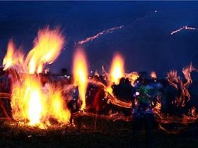 2017凉山彝族火把节盛典:将在高山云地谷克德点燃,彝族群星云集燃情三天三夜