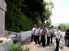 中华彝族企业家协会赴越西县考察彝学工作