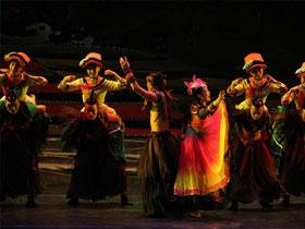 百里杜鹃大型彝族歌舞集《历》在毕节大剧院隆重登场