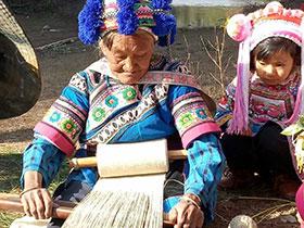 彝族乃苏人的传统火草褂制作工艺