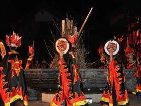 楚雄紫溪山一带的彝族祭虎节