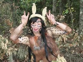 楚雄彝族地区的彝族母虎舞