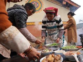 剑川彝族婚礼九大碗:最简单的做法不花哨,自己养的猪牛羊才最香!