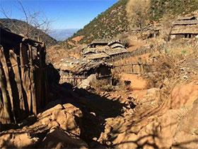 面临濒危的彝族古村落——羊槽子