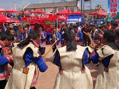 2018年楚雄市彝族马缨花节项目传承人培训活动在板凳山举办