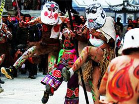 大理南涧:哑神舞传承民族精神文化
