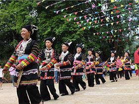"""那坡:彝族""""祈雨节""""引来八方游客"""