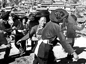 """保山文化档案:保山彝族的""""打跩"""""""