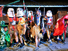 无量山彝族的哑神舞之起源