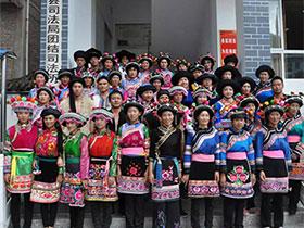 """彝乡盛开民族团结进步""""四朵花——云龙县团结彝族乡民族团结进步创建经验"""