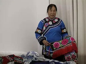 非遗传承人普玉珍:彝族刺绣的守护者 20余年培训绣娘一万余人