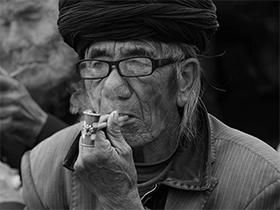 蒋志聪摄影作品——岁月风尘刻划的精神世界