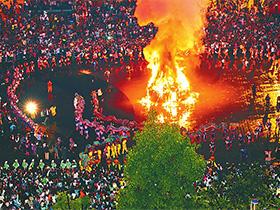 峨山火把节:一场盛大瑰丽的狂欢